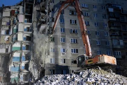 В Магнитогорске обрушилась огромная часть взорвавшегося дома