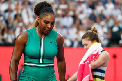 Серена Уильямс выбила первую ракетку мира с Australian Open