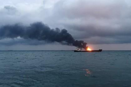 Стали известны подробности пожара на судах в Керченском проливе