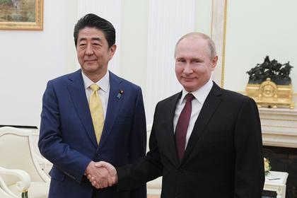 Абэ понадеялся на новую встречу с Путиным