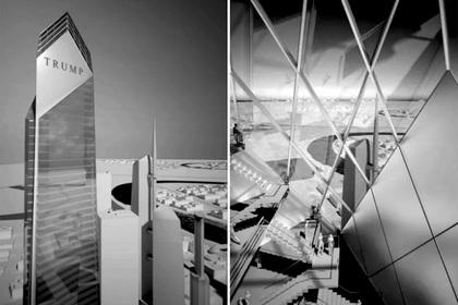 Опубликованы «несуществующие» эскизы башни Трампа в Москве