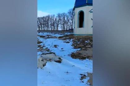 На Украине разгромили часовню канонической УПЦ