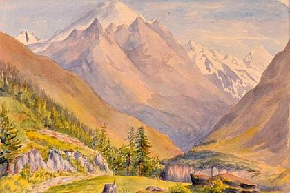 Акварельные пейзажи молодого Гитлера выставили на торги