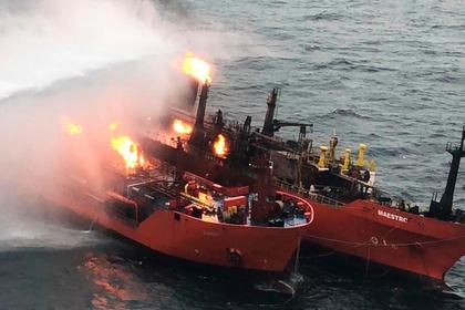 Стали известны подробности погрузки горящего в Керченском проливе танкера