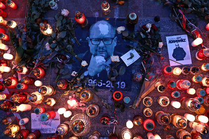 Жена убитого мэра Гданьска обвинила в его гибели местный телеканал
