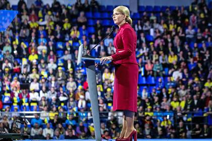 Тимошенко пообещала Украине независимость