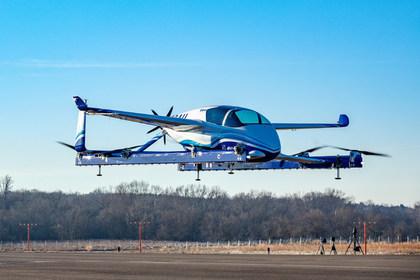 Boeing показал беспилотное аэротакси