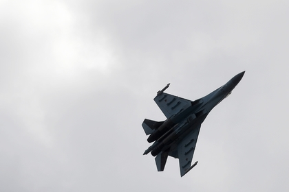 Су-27 перехватил самолет-разведчик у российской границы