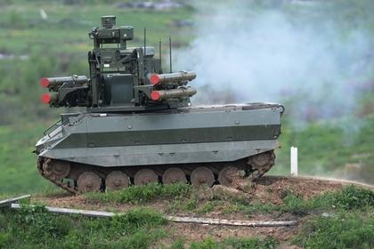 Российская армия получила боевых роботов