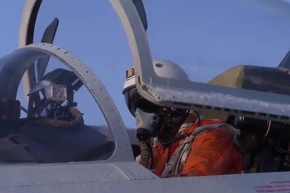 Опубликовано видео перехвата самолета-разведчика у границ России