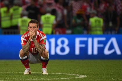 Смолов покаялся за незабитый пенальти в четвертьфинале чемпионата мира photo