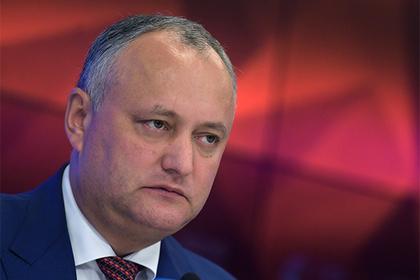 Россия за свой счет отправит президента Молдавии домой