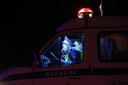 Автобус с детьми опрокинулся в Калужской области