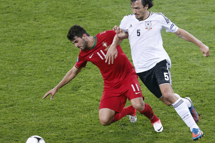 Футболисту наступили бутсой на лицо и изуродовали его