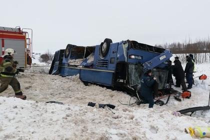 Стали известны результаты проверки перевернувшегося под Калугой автобуса