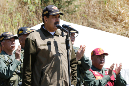 Мадуро пообещал оградить Венесуэлу от интервенции и войны