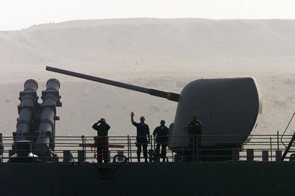 Столкнулись два корабля ВМС США