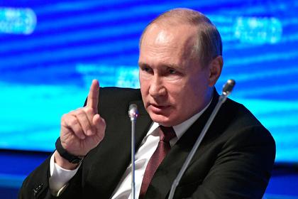 Путин объяснил уничтожение продуктов