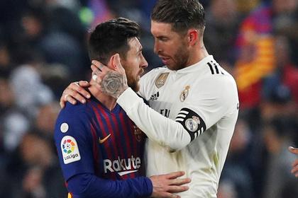 «Барселона» избежала поражения от «Реала»