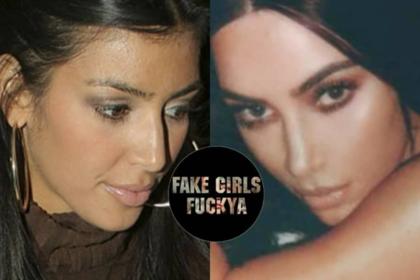 Разоблачена реальная внешность сестер Кардашьян