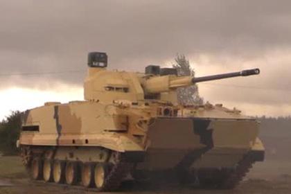 Стрельбу новейшей российской пушки показали на видео