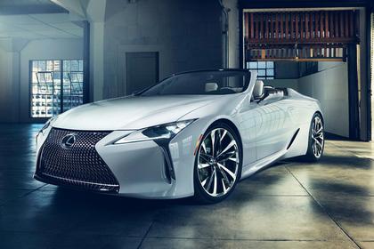 Lexus покажет европейцам концепт автомобиля с откидным верхом