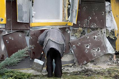 Украинская армия начала массированный обстрел Донбасса