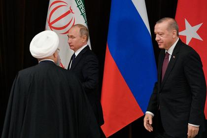 Три президента отвергли создание в Сирии новых реалий
