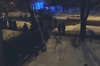Чеченцы забрали видео с камер после массовой драки в Москве