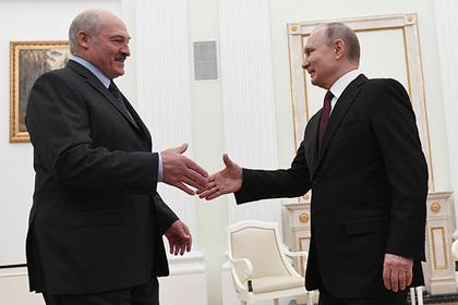 Лукашенко объявил о готовности объединиться с Путиным завтра