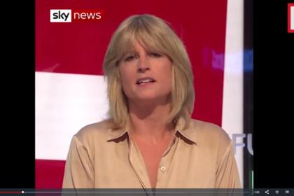 Сестра экс-главы МИД Британии разделась в прямом эфире из-за Brexit