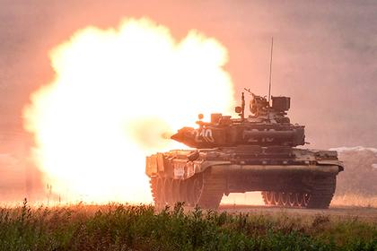 Появилось видео испытаний танка Т-90М