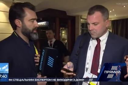 Муж Скабеевой промолчал полторы минуты в эфире украинского канала