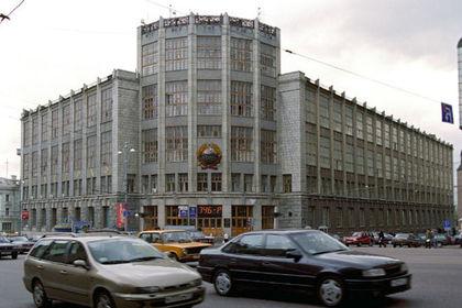 В здании российского министерства погиб человек