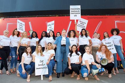 Пристыженные тучные женщины обиделись на мир и подняли бунт