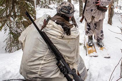 В лесу устроили охоту на российских полицейских