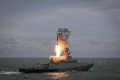 Российским «Калибрам» помешали российские корабли