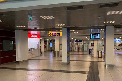 В аэропорту Рима вспыхнул пожар