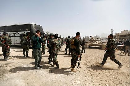 Сирийская армия пошла в наступление