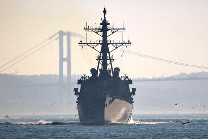Россия организовала слежку за американским эсминцем в Черном море