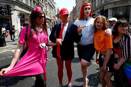 Трамп задумал узаконить геев во всем мире