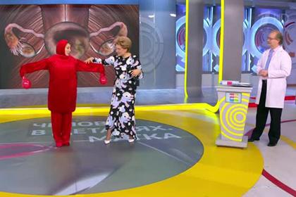 Танцующая матка смутила зрителей Первого канала