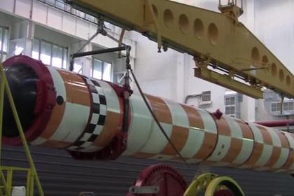 Россия впервые показала испытания «Посейдона»