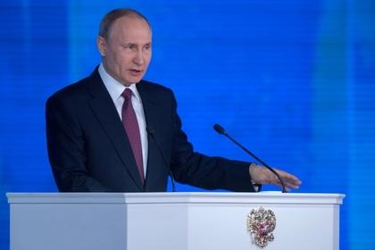 Путин объяснил демонстрацию ракет во время прошлогоднего послания