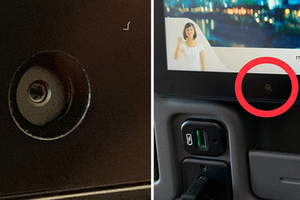 Пассажир одной из лучших авиакомпаний обнаружил скрытую камеру