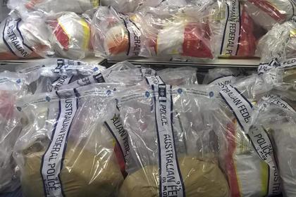 Наркотик на 13 миллионов долларов спрятали среди клубники