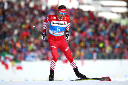 Устюгова дисквалифицировали за перепалку с норвежским лыжником