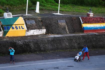 Венесуэла закрыла границу с Бразилией