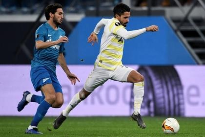 Новичок «Зенита» вывел команду в 1/8 финала Лиги Европы