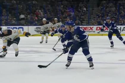 Россиянин Кучеров первым в сезоне набрал 100 очков в НХЛ